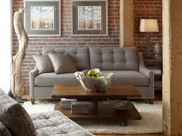 cute brick wall living room design chic bricks wall interior