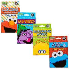 Sesame Street Easter Egg Decorating Kit by Bulk Sesame Street Flash Cards 36 Ct Packs At Dollartree Com