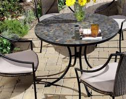 furniture home styles stone harbor mosaic outdoor dining set