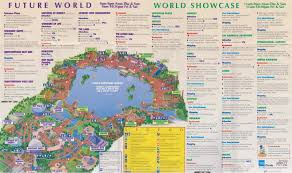 Walt Disney World Maps by Angry Ap Disneyland And Walt Disney World Nostalgia Epcot Guide