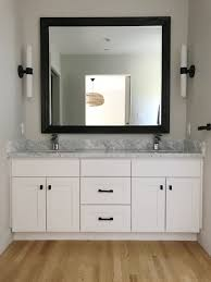 Update Bathroom Mirror by S T Y L I N G How To Update Your Bathroom Without Renovation