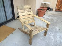How To Build Patio Chairs by Wooden Pallet Patio Chairs Make