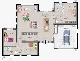plain pied 4 chambres plan maison neuve gratuit 4 chambres plain pied l gant r 1 superbe