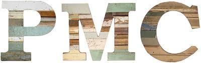 recycled wood letters u2013 paul michael company