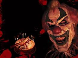 happy birthday creepy clown scary pics for happy birthday evil clown clown business