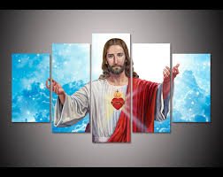 online get cheap jesus heart art decor painting aliexpress com