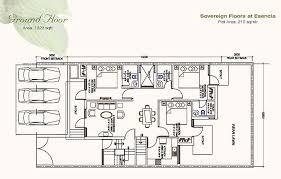 Sony Centre Floor Plan Ansal Esencia Buy Independent Floors Sector 67 Gurgaon