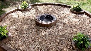 backyard fire pit building tips diy network youtube