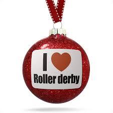 decoration i roller derby ornament