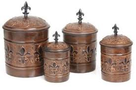 fleur de lis kitchen canisters 35 rustic kitchen canisters target unique primitive rustic