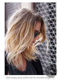 fine hair ombre medium length ombre blonde hair best for fine hair hair