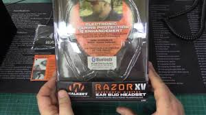 razor quad manual walker razor xv with blue tooth ear protection for the busy
