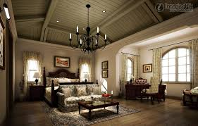 tuscan style villa master bedroom decoration effect chart greatly