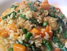 asparagus thanksgiving butternut squash u0026 asparagus risotto farmhouse 1820