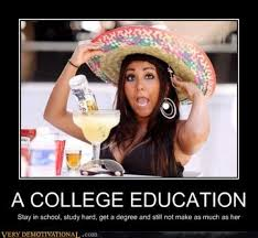 College Guy Meme - college education worth meme guy