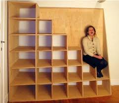 less is more stairs as storage treehugger
