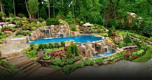 interior personable swimming pool landscaping ideas landscape