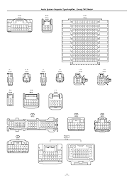 2009 toyota yaris radio wiring diagram 28 images toyota car