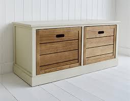 hallway storage bench providence storage furniture off white storage bench with deep