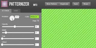 color pattern generator patternizer stripe pattern generator tool bypeople