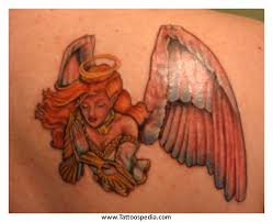 angel tattoo in middlesbrough angel tattoos mom 4