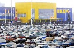 ikea parking lot ikea plans bigger better mega mall news the moscow times