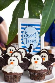 penguin baby shower babies are sweet table sign penguin baby shower decor penguin