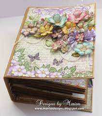 beautiful photo albums designs by marisa heartfelt creations 3d flip fold album