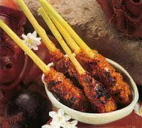 recettes de cuisine indon駸ienne balinaise brochettes balinaises cuisine de bali miam miam yum yum