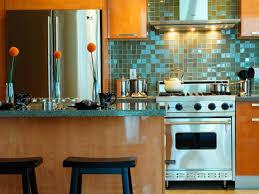 unique kitchen backsplashes colorful kitchens glass backsplash ideas painted kitchen