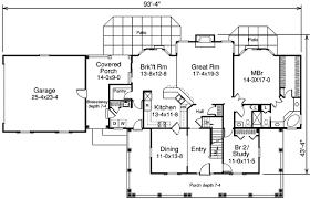 breezeway house plans breezeway and patios showcase this country home pl 57116ha