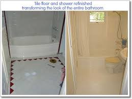 Bathroom Tile Refinishing by How Can I Change The Tile Floor In My Bathroom Miracle Method