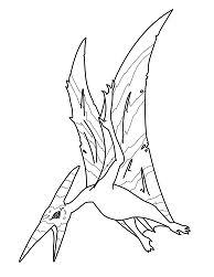 ceratosaurus and pteranodon coloring page free coloring pages online