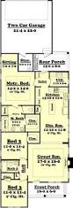 Floor Plans For A 2 Bedroom House Long Narrow House With Possible Open Floor Plan For The Home