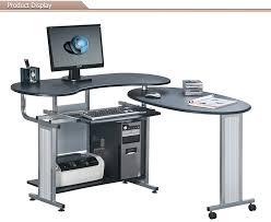 bureau pc design office furniture study wooden computer table design view design