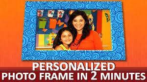 how to make a creative photo frame