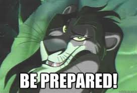 Be Prepared Meme - be prepared ludum dare