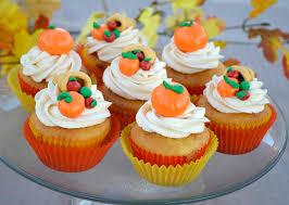 cornucopia and pumpkin cupcake toppers recipe