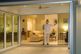 disappearing sliding glass doors sliding retractable screen door how to install retractable
