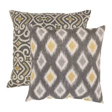 home design down pillow living room chocolate microsuede feather and down filled throw