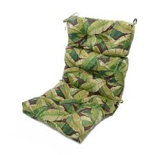 Patio Chair Cushions Sunbrella Lovely High Back Patio Chair Cushions Sunbrella Forest Green