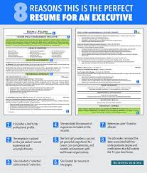 executive resume design ideal resume resume templates