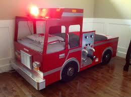 chambre enfant pompier lit pour enfant camion de pompier bricolage lit