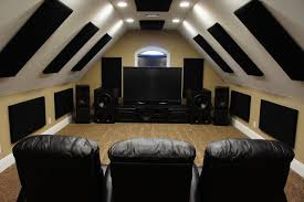 home theater panels attic theater home theater designs pinterest perfect man
