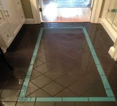 Tile Area Rug Bathroom Floor Porcelain Retroactive 6x6 Diagonal Area Rug