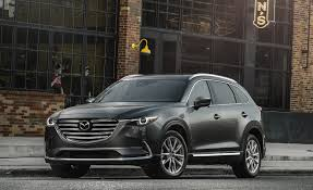 mazda motor cars best mid size suv mazda cx 9 u2013 2017 10best trucks and suvs u2013 car