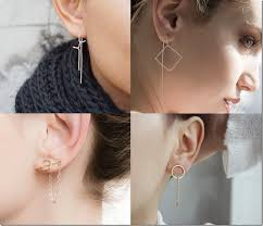 earring styles unconventional earrings threader earring styles jewelry