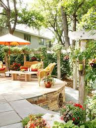 How To Make Your Backyard Private How To Make Your Backyard A Vacation Oasis Midwest Living