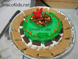interior design simple camping themed cake decorations wonderful