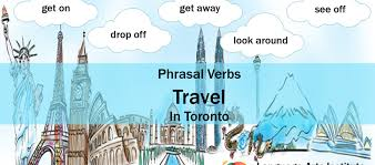 travel check images Travel phrasal verbs get on get away check in take off make png